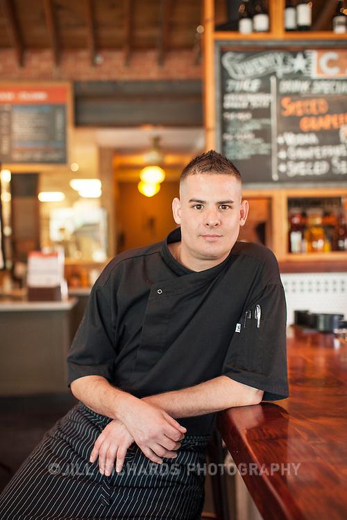 Chef Dean Armijo of Phoenix Public Market Cafe, located at 721 N Central Ave, Phoenix, AZ 85004.