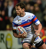 Scott Grix of Wakefield Trinity in action during the Betfred Super League match at Belle Vue, Wakefield<br /> Picture by Richard Land/Focus Images Ltd +44 7713 507003<br /> 09/02/2018