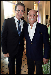 Ronald O.Perelman with Kyle MacLachlan attend the National Youth Orchestra of The United States of America Reception at the <br /> The Royal Albert Hall hosted by Ronald O.Perelman, London, United Kingdom,<br /> Sunday, 21st July 2013<br /> Picture by Andrew Parsons / i-Images