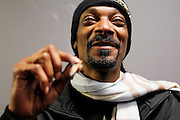 LOS ANGELES, CA - JANUARY 13:  Snoop Dogg poses for a photo backstage  at Nokia Theatre L.A. Live on January 13, 2012 in Los Angeles, California.  (Photo by Joe Kohen/Getty Images) *** Local Caption *** Snoop Dogg