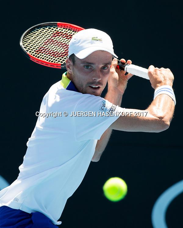 ROBERTO BAUTISTA AGUT (ESP)<br /> <br /> Australian Open 2017 -  Melbourne  Park - Melbourne - Victoria - Australia  - 19/01/2017.