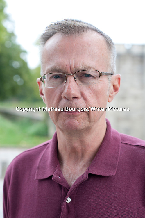 Donald Ray Pollock at Festival America, Vincennes, France<br /> 10th September 2014<br /> <br /> Picture by Mathieu Bourgois/Writer Pictures<br /> <br /> NO FRANCE