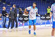 DESCRIZIONE : Eurolega Euroleague 2014/15 Gir.A Real Madrid - Dinamo Banco di Sardegna Sassari<br /> GIOCATORE : Brian Sacchetti<br /> CATEGORIA : Riscaldamento<br /> SQUADRA : Dinamo Banco di Sardegna Sassari<br /> EVENTO : Eurolega Euroleague 2014/2015<br /> GARA : Real Madrid - Dinamo Banco di Sardegna Sassari<br /> DATA : 05/11/2014<br /> SPORT : Pallacanestro <br /> AUTORE : Agenzia Ciamillo-Castoria / Luigi Canu<br /> Galleria : Eurolega Euroleague 2014/2015<br /> Fotonotizia : Eurolega Euroleague 2014/15 Gir.A Real Madrid - Dinamo Banco di Sardegna Sassari<br /> Predefinita :
