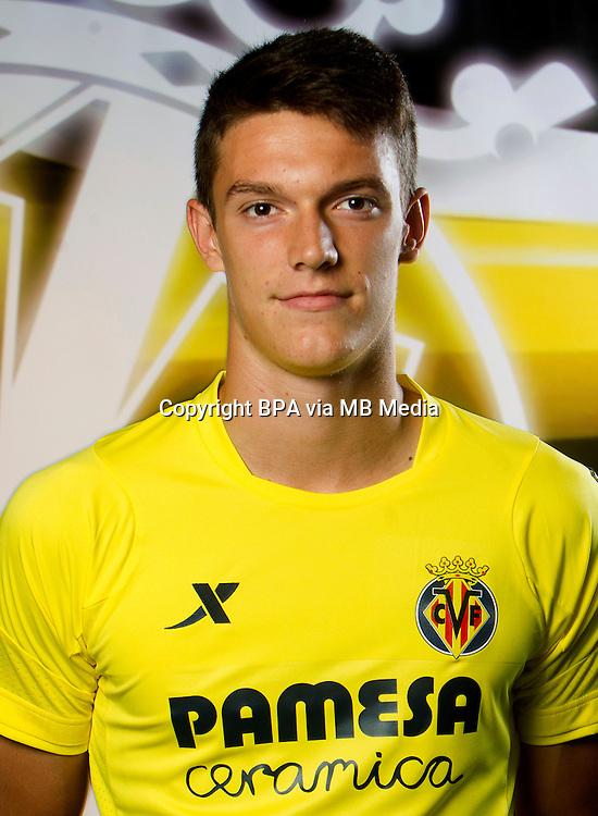 Spain - La Liga BBVA  2014-2015 / <br /> ( Villarreal C.F. ) - <br /> Adrian Mar&iacute;n Gomez