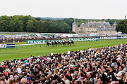 Hippodrome de Chantilly, France. June 12th 2011.Prix de Diane Longines 2011.Prix de Diane
