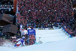 10.01.2015, Adelboden, SUI, FIS Weltcup Ski Alpin, Adelboden, Riesentorlauf, Herren, 2. Durchgang, im Bild Carlo Janka (SUI) // in action during 2nd run of Men Giant Slalom of FIS Ski Alpine World Cup in Adelboden, Switzerland on 2015/01/10. EXPA Pictures © 2015, PhotoCredit: EXPA/ Freshfocus/ Christian Pfander<br /> <br /> *****ATTENTION - for AUT, SLO, CRO, SRB, BIH, MAZ only*****