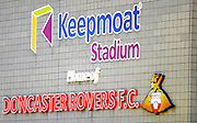 Doncaster Rovers FC during the Sky Bet League 1 match between Doncaster Rovers and Coventry City at the Keepmoat Stadium, Doncaster, England on 23 April 2016. Photo by Stephen Connor.