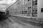 13/04/1964<br /> 04/13/1964<br /> 13 April 1964<br /> Exterior of new university buildings at Belfield.  The Biology Department.