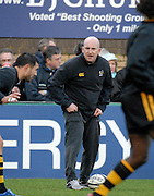 Wycombe, GREAT BRITAIN,  Wasps coach, Shaun EDWARDS, directing the pre game training session at the Guinness Premiership game London Wasps v Bath Rugby, at Adams Park, Bucks  29/12/2007 [Mandatory Credit Peter Spurrier/Intersport Images]