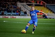 Peterborough United midfielder Louis Reed (11) on the attack during the EFL Sky Bet League 1 match between Peterborough United and Bradford City at The Abax Stadium, Peterborough, England on 17 November 2018.