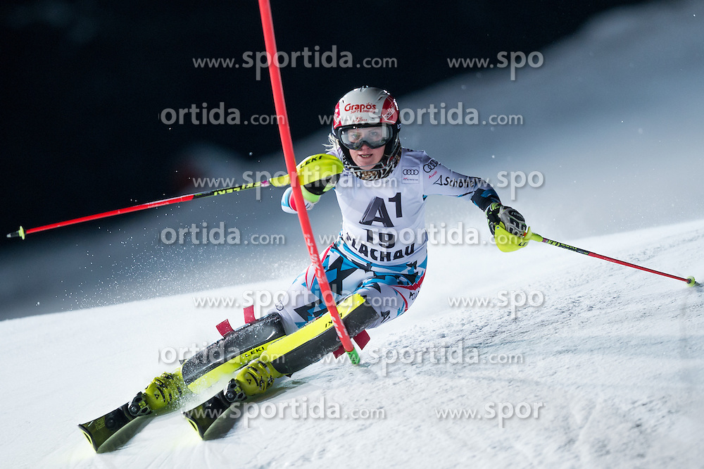 Katharina Truppe (AUT) during the 7th Ladies' Slalom of Audi FIS Ski World Cup 2016/17, on January 10, 2017 at the Hermann Maier Weltcupstrecke in Flachau, Austria. Photo by Martin Metelko / Sportida