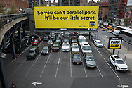 """So you can't parallel park, it'll be our little secret"" along the Highline in New York City"