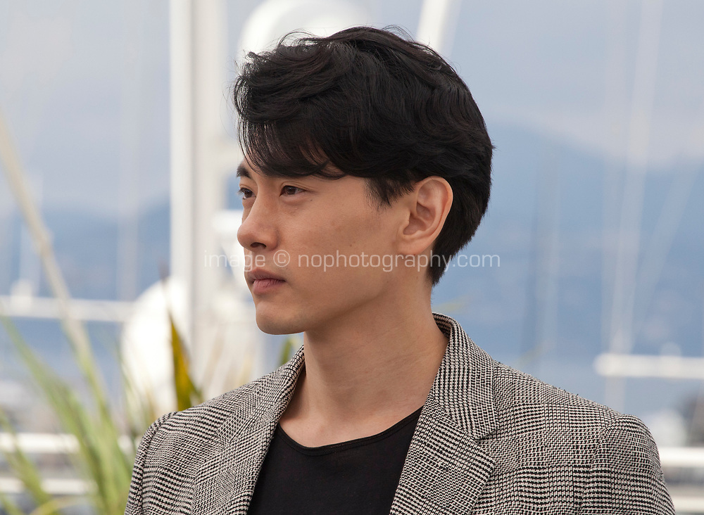 Actor Teo Yoo at the Leto (Summer) film photo call at the 71st Cannes Film Festival, Thursday 10th May 2018, Cannes, France. Photo credit: Doreen Kennedy