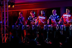 Percussion Theatre open the evening as Bristol Sport hosts their annual Gala Dinner at Ashton Gate Stadium - Rogan/JMP - 05/12/2018 - SPORT - Ashton Gate Stadium - Bristol, England - Bristol Sport Gala Dinner 2018.