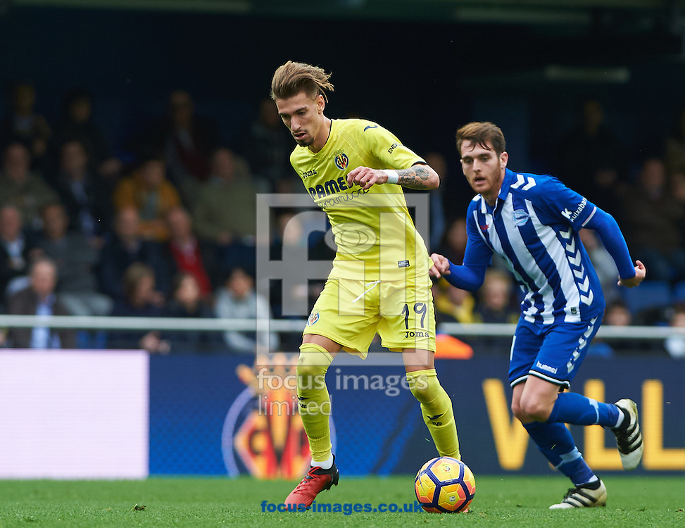 Samu Castillejo of Villarreal CF during the La Liga match at Estadio El Madrigal, Villarreal<br /> Picture by Maria Jose Segovia/Focus Images Ltd +34 660052291<br /> 27/11/2016