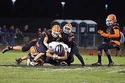 16 September 2016: Normal West Wildcats at Normal Community Ironmen for the Annual Chili Bowl. IHSA football, Normal Illinois<br /> <br /> #NormalWestFootball #Wildcats #bestlookmagazine #alphoto513 #IHSA #IHSAFootball  #NormalCommunity #Ironmen  #Normal