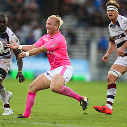 Shane Geraghty of Stade Francais during the Top 14 match between Bordeaux Begles and Stade Francais on September 9, 2017 in Bordeaux, France. (Photo by Manuel Blondeau/Icon Sport)
