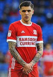 Muhamed Besic of Middlesbrough- Mandatory by-line: Nizaam Jones/JMP - 17/02/2018 -  FOOTBALL - Cardiff City Stadium - Cardiff, Wales -  Cardiff City v Middlesbrough - Sky Bet Championship