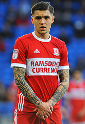 Muhamed Besic of Middlesbrough- Mandatory by-line: Nizaam Jones/JMP - 17/02/2018 -  FOOTBALL - Cardiff City Stadium - Cardiff, Wales -  Cardiff City v Middlesbrough - Sky Bet Championship