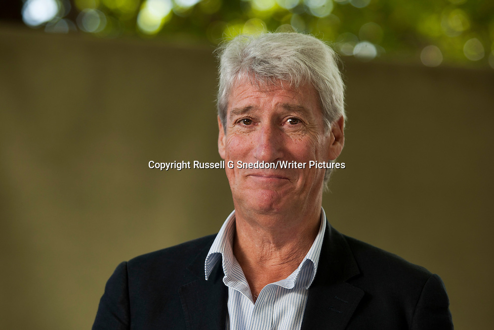 Jeremy Paxman at the Edinburgh International Book Festival 2014. 24nd August 2014<br /> <br /> Picture by Russell G Sneddon/Writer Pictures
