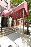 Entrance to 443 West 151st Street