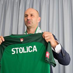 20180612: SLO, Football - Ilija Stolica as a new head coach of NK Olimpija Ljubljana