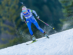 15.01.2020, Chiemgau Arena, Ruhpolding, GER, IBU Weltcup Biathlon, Sprint, Damen, im Bild Kaisa Makarainen (FIN) // Kaisa Makarainen of Finland during the women sprint competition of BMW IBU Biathlon World Cup at the Chiemgau Arena in Ruhpolding, Germany on 2020/01/15. EXPA Pictures © 2020, PhotoCredit: EXPA/ Stefan Adelsberger