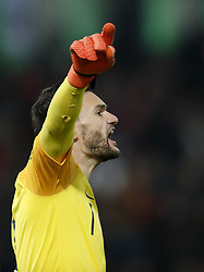 France goalkeeper Hugo Lloris during the UEFA Nations League A group 1 qualifying match between The Netherlands and France at stadium De Kuip on November 16, 2018 in Rotterdam, The Netherlands