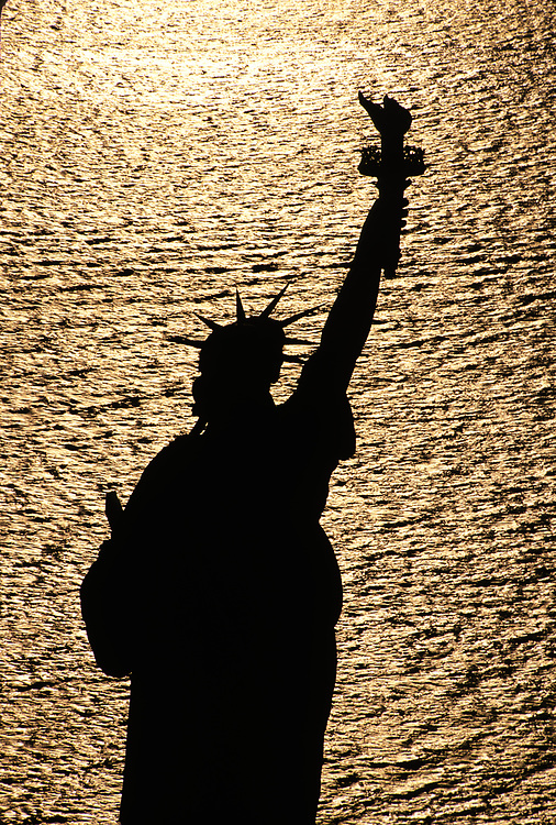 Statue of Liberty Aerial, New York City, NY