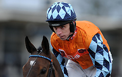 Jockey L Aspell  - Photo mandatory by-line: Harry Trump/JMP - Mobile: 07966 386802 - 09/03/15 - SPORT - Equestrian - Horse Racing - Taunton Racing - Taunton Racecourse, Somerset, England.