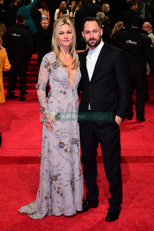 Julia Stiles and Preston J.Cook attending the EE British Academy Film Awards held at the Royal Albert Hall, Kensington Gore, Kensington, London. PRESS ASSOCIATION Photo. Picture date: Sunday 12 February 2017. See PA Story SHOWBIZ Bafta. Photo credit should read: Ian West/PA Wire