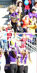 08.05.2011, Hohe Warte, Wien, AUT, EFL Viertelfinale, Raiffeisen Vikings vs Calanda Broncos, im Bild Stunt der Vikings Cheerleader,  EXPA Pictures © 2011, PhotoCredit: EXPA/ T. Haumer