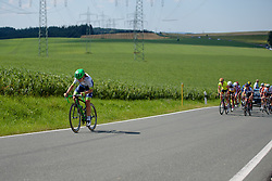 Annemiek van Vleuten (Orica AIS) tries to bridge across to the leaders at Thüringen Rundfarht 2016 - Stage 6 a 130 km road race starting and finishing in Schleiz, Germany on 20th July 2016.