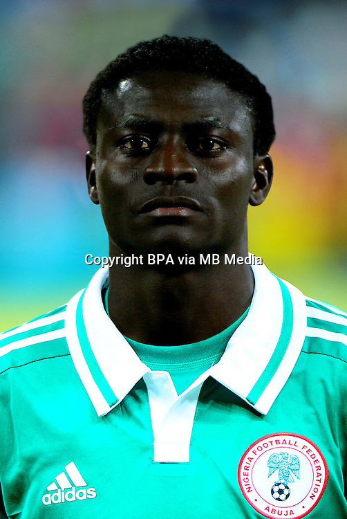 Football Fifa Brazil 2014 World Cup / <br /> Nigeria National Team - <br /> Obafemi MARTINS of Nigeria