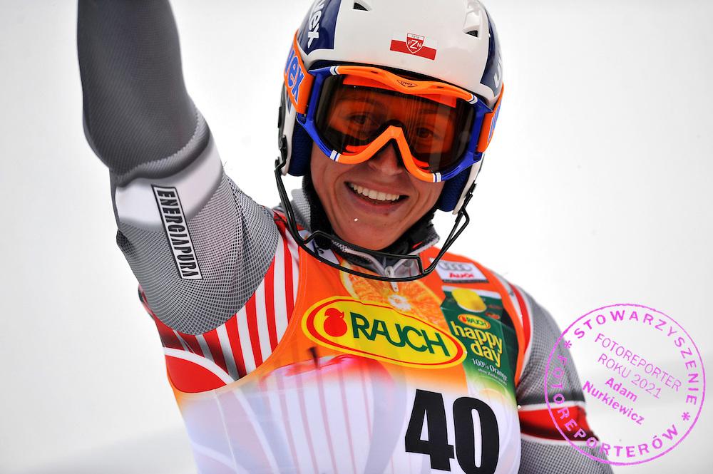 GEPA-3011085679 - ASPEN,COLORADO,USA,30.NOV.08 - SKI ALPIN - FIS Weltcup Aspen, Slalom, Torlauf der Damen. Bild zeigt den Jubel von Katarzyna Karasinska (POL). Foto: GEPA pictures/ Oliver Lerch.FOT. GEPA / WROFOTO.*** POLAND ONLY !!! ***