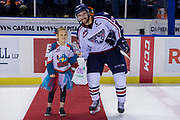 KELOWNA, CANADA - OCTOBER 13: Third Star of the Game Nolan Yaremko #22 of the Tri-City Americans at the Kelowna Rockets game on October 13, 2018 at Prospera Place in Kelowna, British Columbia, Canada. (Photo By Cindy Rogers/Nyasa Photography, *** Local Caption ***