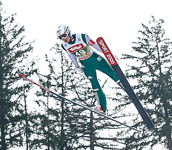 03.01.2015, Bergisel Schanze, Innsbruck, AUT, FIS Ski Sprung Weltcup, 63. Vierschanzentournee, Training, im BildPhillip Sjoeen (NOR) // Phillip Sjoeen of Norway in action during Trial Jump of 63 rd Four Hills Tournament of FIS Ski Jumping World Cup at the Bergisel Schanze, Innsbruck, Austria on 2015/01/03. EXPA Pictures © 2015, PhotoCredit: EXPA/ Peter Rinderer