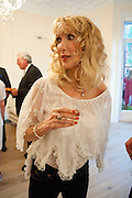 BASIA BRIGGS, Drinks party hosted by Basia Briggs. Sloane Gdns. London. 24 May 2010. -DO NOT ARCHIVE-© Copyright Photograph by Dafydd Jones. 248 Clapham Rd. London SW9 0PZ. Tel 0207 820 0771. www.dafjones.com.