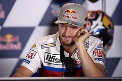 May 2, 2019 - Jerez De La Frontera, Cadiz, Spain - Jack Miller (43) of Australia and Alma Pramac Racing Ducati during the press conference before Red Bull GP of Spain at Circuito de Jerez on May 2, 2019 in Jerez de la Frontera, Spain. (Credit Image: © Jose Breton/NurPhoto via ZUMA Press)