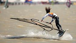29.04.2012, Burgenland, Neusiedler See, Podersdorf, AUT, PWA, Surf Worldcup, im Bild Nicolas Akgazciyan, (FRA) // during surfworldcup at podersdorf, EXPA Pictures © 2012, PhotoCredit: EXPA/ M. Kuhnke