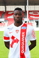 Ismael TRAORE - 08.09.2014 - Photo officielle Brest - Ligue 2 2014/2015<br /> Photo : Maxime Kerriou / Icon Sport