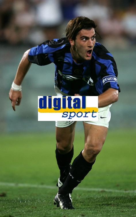 Pisa 14/8/2004 Inter Aek Atene 5-1 Friendly tournament Sky. Nicola Ventola Inter<br /> <br /> Foto Andrea Staccioli Graffiti