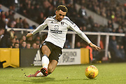 Fulham defender Ryan Fredericks (2) during the EFL Sky Bet Championship match between Fulham and Burton Albion at Craven Cottage, London, England on 20 January 2018. Photo by Richard Holmes.