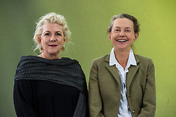 """Pictured: Jennifer Clement and Kirsty Gunn<br /> <br /> Jennifer Clement is the President of PEN International and the first woman to be elected since the organization was founded in 1921.<br /> <br /> Jennifer Clement studied English Literature and Anthropology at New York University and also studied French literature in Paris, France. She has an MFA in fiction  from the Stonecoast MFA program at USM.<br /> <br /> Kirsty Gunn (born 1960, New Zealand) is a novelist and writer of short stories.<br /> <br /> Her stories include """"Rain"""", which led to the 2001 film of the same name, directed by Christine Jeffs and also the 2001 ballet by the Rosas Company, set to """"Music for Eighteen Musicians"""" a 1976 score by Steve Reich.<br /> <br /> Her novel """"The Boy and the Sea"""" won the Scottish Arts Council Book of the Year award in 2007.<br /> <br /> Her 2012 novel """"The Big Music"""" won the Book of the Year in the 2013 New Zealand Post Book Awards. The novel took seven years to write, and was inspired by pibroch, the classical music of the Great Highland Bagpipe.[4]<br /> <br /> She is professor of writing practice at the University of Dundee."""