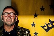 AMSTERDAM - portret van Jan Dijkgraaf lijsttrekker van politieke partij GeenPeil copyright robin utrecht