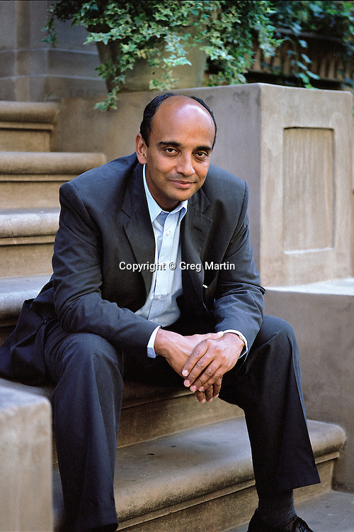 Kwame Anthony Appiah photographed in Manhattan New York