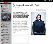 Producer Nahnatchka Khan, Time Magazine, 2015