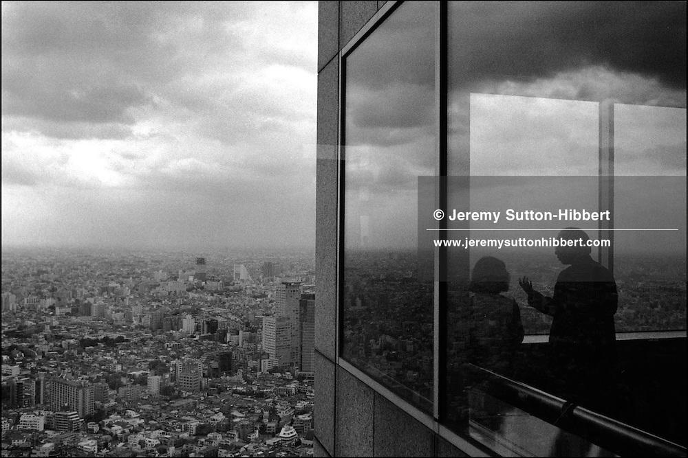 View of Tokyo from top of Metropolitan Government Building, Shinjuku, TOKYO, JAPAN, MAY 2002.