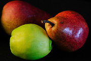 Three different pears