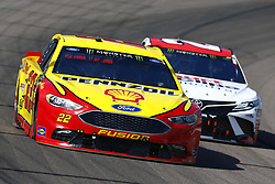 March 11, 2018 - Avondale, Arizona, United States of America - March 11, 2018 - Avondale, Arizona, USA: Joey Logano (22) brings his car through the turns during the Ticket Guardian 500(k) at ISM Raceway in Avondale, Arizona. (Credit Image: © Chris Owens Asp Inc/ASP via ZUMA Wire)